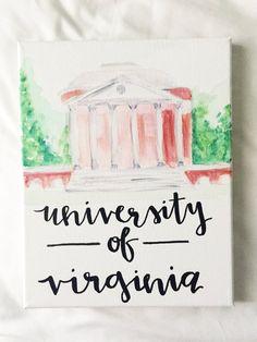 NCAA University of Virginia Mini Head Wrap