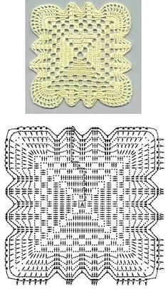 Resultado de imagen para pastillas a crochet para colchas patrones