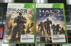 Halo Reach and Gears of War 3 bundle! Xbox 360 Free Shipping!