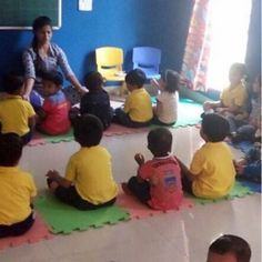 Kids @ Kidzee Hinjewadi, engrossed in Soulful yoga sessions. #Yoga #Excercise #InstaYoga #Activity #Fun #Summertime #EarlyChildhoodEducation #BestPreschool #Preschool #PicOfTheDay #Preschool #AsiasLargest #EarlyEducation #India