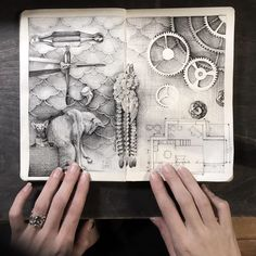 My ink diary. в 2019 г. art sketchbook, art drawings и art journal inspirat Design Diy, Art Design, Art Inspiration Drawing, Art Journal Inspiration, Alphonse Mucha, Moleskine, Disney Art Drawings, Tutorial Paint, Topazio Imperial