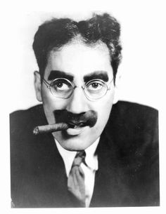 Groucho Marx of the Marx Brothers
