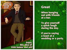 Irish Joke - sorry - wise Irish saying!