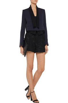 Layered crepe blazer | Chloé | 60% off | THE OUTNET