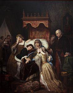 Pelegrín Clavé . La demencia de Isabel de Portugal