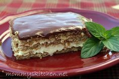 Mommys Kitchen: Sinfully Easy Chocolate Eclair Cake