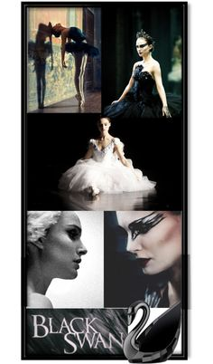 """BLACK SWAN_Natalie Portman"" by fairylittleprincess ❤ liked on Polyvore"