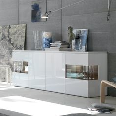 Vision Sideboard with 2 Display Cabinets