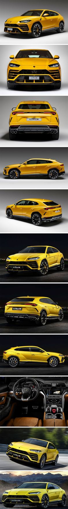 The Urus has been a long time coming! Especially since it's initial reveal in 2012, #lamborghini casually dropped hints every few years, indicating a 2018 release and here we are now, with the car being unveiled in full grandeur… touted as one of the few Lamborghini cars with 4 seats… and a car that the company calls the world's first Super Sports Utility Vehicle (SSUV).