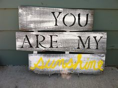 DIY barn wood sign ...