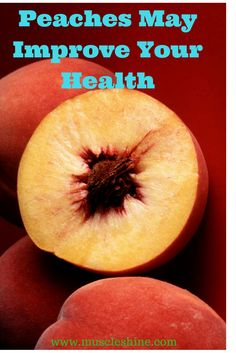Fruits have healthy impact on your life. You can eat peach and get alot of health benefits.