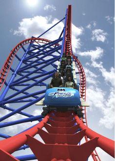 Six Flags introduces Mr. Freeze roller coaster #entertainment #tech #teknoloji #visit #fun