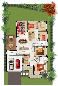 CulburraMkII - Barrington Homes Pool House Plans, Sims House Plans, House Layout Plans, Duplex House Plans, Family House Plans, New House Plans, Dream House Plans, Small House Plans, House Layouts