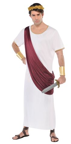 Become the first emperor of the Roman empire in this classic #Caesar #Augustus #Costume!