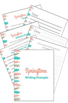 The Inspired Treehouse - If you're looking for fun springtime writing activities for kids, these free printable writing prompts are for you! Pre Writing, Writing Skills, Writing Activities, Rainy Day Activities For Kids, Rainy Day Fun, Handwriting Games, Typing Skills, Spring School, Creative Writing Prompts