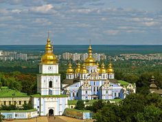 Golden Dome, Kiev, Ukraine