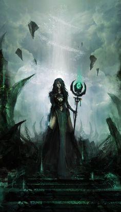 necromancy magic fantasy art - Google Search