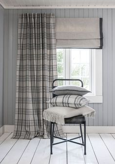 VILDE Liftgardin Cabin Interiors, Roman Shades, Curtains, Home Decor, Blinds, Decoration Home, Room Decor, Draping, Home Interior Design