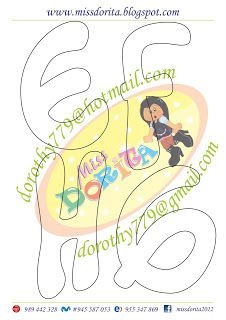 Miss Dorita: Letra Timoteo Felt Name Banner, Name Banners, Graffiti Lettering, Hand Lettering, Bubble Letters, Alphabet, Diy And Crafts, Doodles, Clip Art