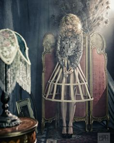 Dan Lim Photography Inc. | Fashion Women #fashion #womensfashion #highfashion #snake #vaudeville