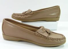 sas tassel loafers shoes womens 6 M B tan by cheapgrannyboots, $29.99