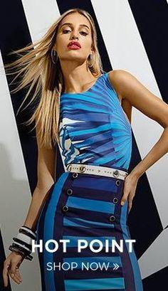 Peças de personalidade explosiva que vestem a mulher urbana!   COMPRE ESSE PRODUTO NESSA LOJA: http://imaginariodamulher.com.br/look/?go=2bSZsJb