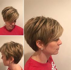 40 best short hairstyles for fine hair in 2019 00014 – Hair Styles Haircut Styles For Women, Short Haircut Styles, Cute Short Haircuts, Bob Haircuts, Fine Short Hair Styles, Short Wedge Haircut, Curly Short, Pixie Styles, Pixie Haircut For Thick Hair