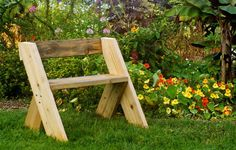 Build A Leopold Bench Today So You Can Relax In Your Garden Tomorrow | Rodales OrganicLife | This easy how-to build is actually quicker than you think. You'll be sitting on it in no time!
