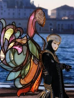 I love the wings #Mask in #Venice #Carnival