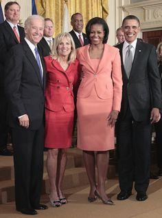 Obamas and Bidens                                                       …