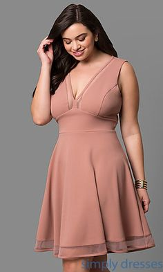 Shop plus-sized formal dresses and semi-formal plus party dresses at Simply Dresses. Plus cocktail dresses, plus-sized dresses for parties, plus-size casual dresses, and evening gowns in plus sizes. Best Cocktail Dresses, Casual Cocktail Dress, Plus Size Cocktail Dresses, Plus Size Formal Dresses, Dress Plus Size, Casual Dresses, Formal Gowns, Prom Dress Shopping, Online Dress Shopping