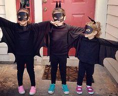 No sew costumes- Bats