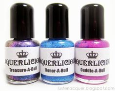 Laquerlicious - Polish for Pit Bulls. If you are in to painting their nails.
