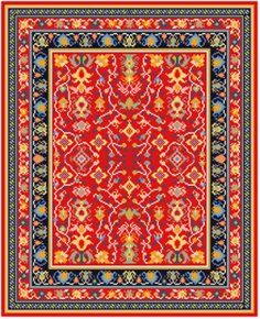 Miniature Oriental Rug 1 12th Scale And Miniatures