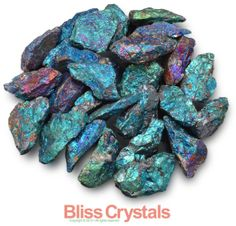 1 One Large  XL Chalcopyrite Peacock Ore Crystal by BlissCrystals, $4.95