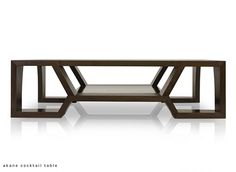 Akane Cocktail Table | Hellman-Chang available in many sizes rect or square