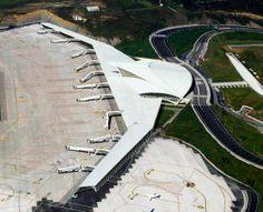 Santiago Calatrava, Masterplan Architecture, Architecture Design, Bus Station, Train Station, Airport Design, Tower Building, Bilbao, Public Transport