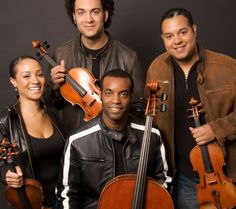 """The Harlem Quartet has set out to rewrite the """"rules"""" for what the classical musician looks and plays like. The group began in 2008 as a project created by the Sphinx Organization with the mission of broadening diversity in classical music while also incorporating works from minority composers to grow the classical audience in new directions."""