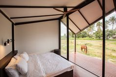 #Architecture in #Thailand - #Bedrooms by Sook Architects. ph Spaceshift Studio