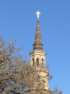 St. Philip's Episcopal Church in Charleston, South Carolina via The Gracious Posse