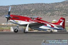 P 51 Racing plane