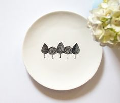 Garden plate Small Size by ZuppaAtelier on Etsy, $35.00