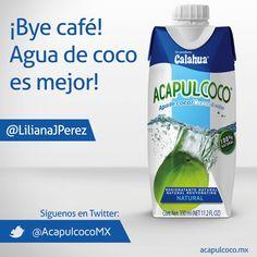 Visita www.acapulcoco.mx y enamórate del agua de coco.