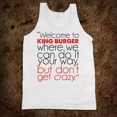 King Burger | Bon Qui Qui for sure getting @jamidobbs one of these!