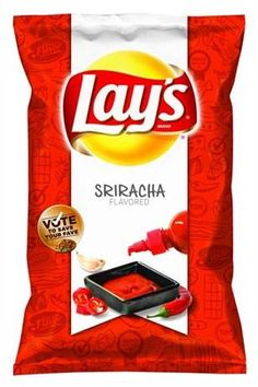 Have you seen the new Lay's Potato Chip flavors? Cheesy Garlic Bread, Chicken & Waffles, and Sriracha flavored chips are on the grocery store shelves now. Try them and vote on their website. Lays New Flavors, Lays Potato Chip Flavors, Lays Chips Flavors, Lays Potato Chips, Cheesy Garlic Bread, Cheesy Chicken, Chips Lays, Frito Lay, Chips Brands