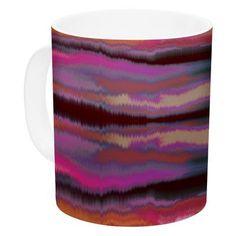 KESS InHouse Sola Color by Nina May 11 oz. Ceramic Coffee Mug