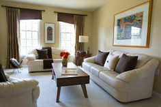 Living room, view 1, by Sheila O'Connell Photography