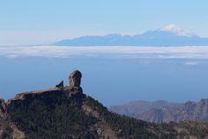 Pico del Teide visto desde Gran Canaria