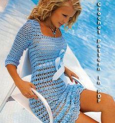 Summer Dress Crochet Pattern with Charts and door ErenaCrochetStudio, $5.99