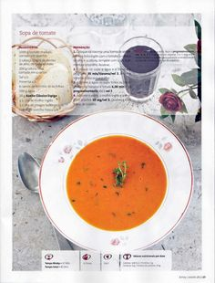 Revista bimby pt0014 - janeiro 2012 Betty Crocker, Thai Red Curry, Soup Recipes, Food And Drink, Diet, Cooking, Ethnic Recipes, Gluten, Sweet Recipes